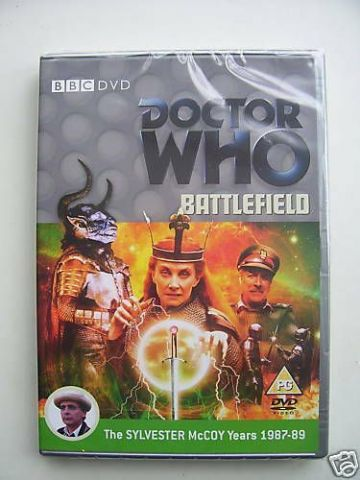 Doctor Who - Battlefield (DVD, 2008) - Sylvester McCoy - NEW and SEALED